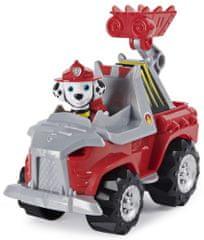 Spin Master Tlapková patrola Marshall Dino tematické vozidlá