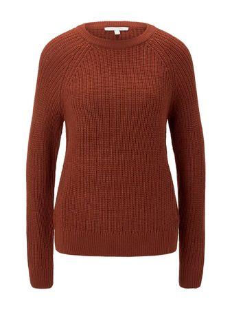 Tom Tailor női pulóver 1021140_1, XS, narancssárga