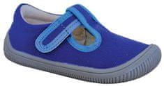 Protetika chlapčenské barefoot papuče Kirby 72021KIRBYBLUE