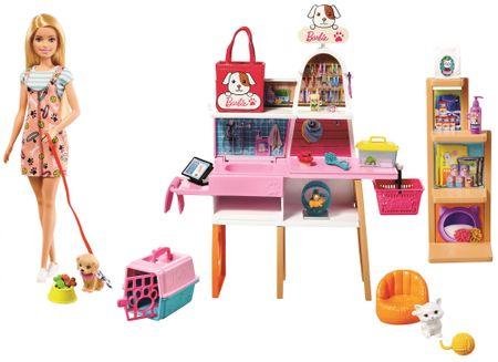 Mattel Barbie - állatbolt