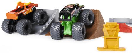 Spin Master Monster Jam - 2 autó és kiegészítők