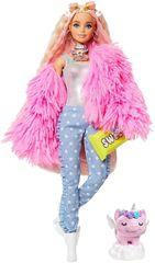 Mattel Barbie Extra v roza jakni