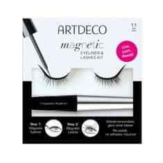 Artdeco Umělé řasy s magnetickými očními linkami Magnetic Eyeliner & Lashes Kit