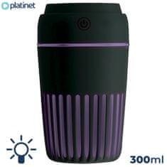 Platinet PMAH vlažilec zraka + LED lučka, črn