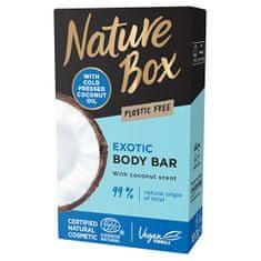 Nature Box Tuhé sprchové mydlo Coconut Oil (Shower Bar) 100 g