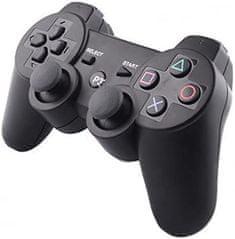 Ovladač pro PS3 s kabelem - Twin Vibration III