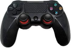 Alum online Bezdrôtový ovládač pre PS4 - Twin Vibration IV - Čierna