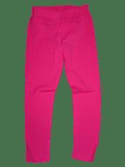 KUGO Dívčí růžové bavlněné legínky.
