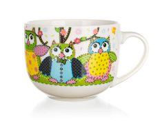 Banquet Hrnček jumbo OWLS 500ml (Veselé sovičky)