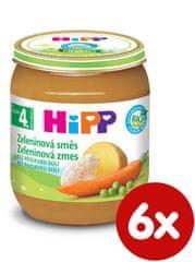 HiPP BIO Zeleninová směs - 6 x 125g