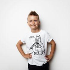 Megaprint Fantovska majica Lego Batman - pobarvaj si sam