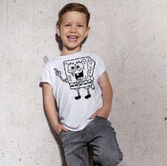 Megaprint Fantovska majica Spongebob - pobarvaj si sam