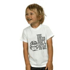 Megaprint Otroška majica Minions - pobarvaj si sam