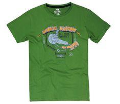 Rusty Pistons tričko RPTSM73 Radical green