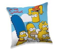 Jerry Fabrics Polštářek Simpsons Family cloud 40x40 cm