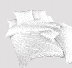 Dadka Povlečení damašek Rokoko bílé 140x200, 70x90 cm