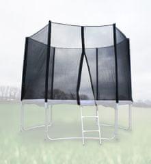Goodjump Ochranná síť na trampolínu 305 cm PE na 6 trubek- černá