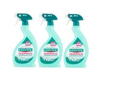 SANYTOL 3 x 500ml dezinfekční univerzální čistič sprej eukalyptus