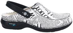 Nursing Care PARIS pracovní kožená pratelná obuv s certifikací unisex s páskem noviny WG4PF9 Nursing Care Velikost: 35