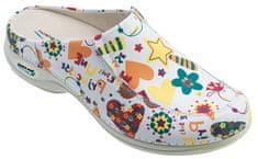 Nursing Care BERLIM pracovní kožená pratelná obuv s certifikací dámská bez pásku junior WG4AF2 Nursing Care Velikost: 35