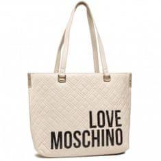 Love Moschino Dámská kabelka LOVE MOSCHINO, béžová - UNI