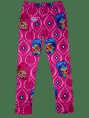 Nickelodeon Dívčí růžové legínky s panenkou Shimmer and Shine.