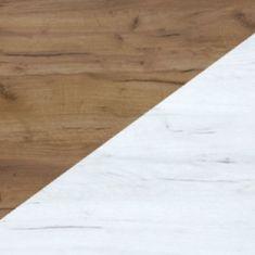Meblocross Botník 2D Maximus 38 Dekor lamina: craft zlatý/craft bílý