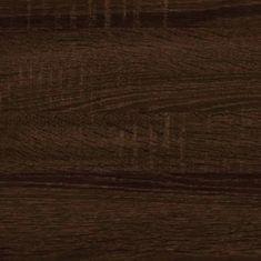 Meblocross Botník 1 Dekor lamina: dub sonoma tmavý