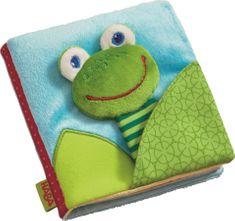 HABA textilní taktilní knížka ŽABKA