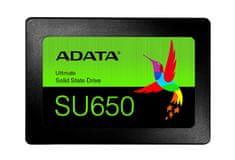 AData Ultimate SU650 SSD disk, 480 GB, SATA3, 3D NAND