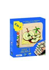 Beleduc Beleduc Vývojové vrstvené puzzle JABLÍČKO
