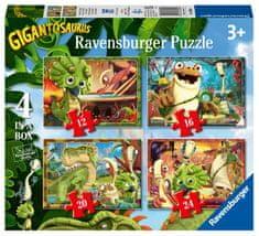 Ravensburger Puzzle 030804 Gigantosaurus 4 w 1