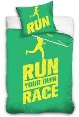 Tip Trade Run Race perkál ágynemű