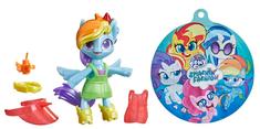 My Little Pony kucyk z kolekcji Modna impreza - Rainbow Dash