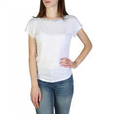 Armani Exchange Bílý dámský lehký svetřík Armani Exchange s volnými zády - XS