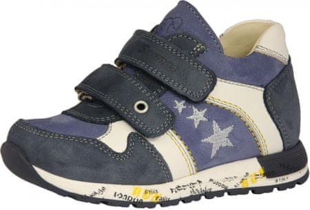 Szamos fiú bőr sportcipő 1587-20133, 25, kék