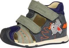 Szamos 4305/20413 kožne sandale za dječake