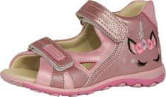 Szamos 4319/40183 kožne sandale za djevojčice