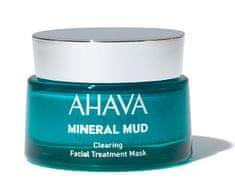 AHAVA Čistiaca bahenná maska na akné a čierne bodky pre mastnú pleť s obsahom prírodného bahna a minerálov z Mŕtveho mora 50ml