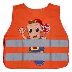 Delami Dětská výstražná vesta pro kluky, oranžová