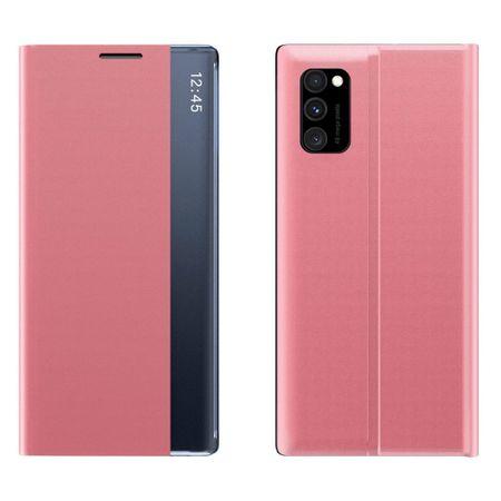 MG Sleep Case könyvtok Xiaomi Poco M3, rózsaszín