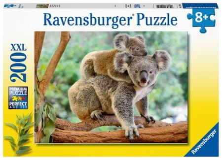 Ravensburger Puzzle 129454 Koala család, 200 darab