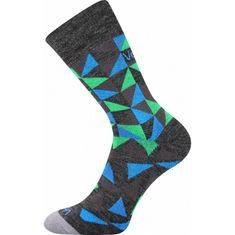 Voxx Ponožky tmavo sivé (Matrix)