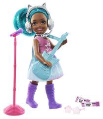 Mattel Barbie Chelsea po poklicu pevka