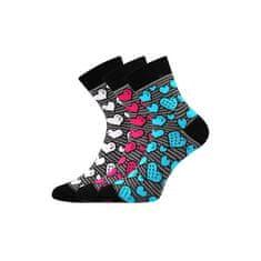 Fuski - Boma 3PACK ponožky viacfarebné (Ivana 59)