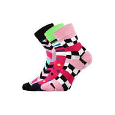 Fuski - Boma 3PACK ponožky viacfarebné (Ivana 56)