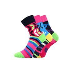 Fuski - Boma 3PACK ponožky viacfarebné (Ivana 57)