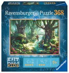 Ravensburger Puzzle 129553 Exit KIDS Puzzle: V magickom lese 368 dielikov