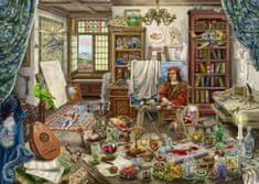 Ravensburger 167821 Exit Puzzle: Művészstúdió, 759 darab
