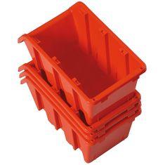 Prosperplast Box NP04, 060x080x115 mm, na spojovací materiál
